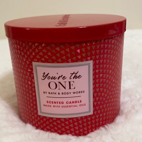 BBW You the One 3 wick Candle